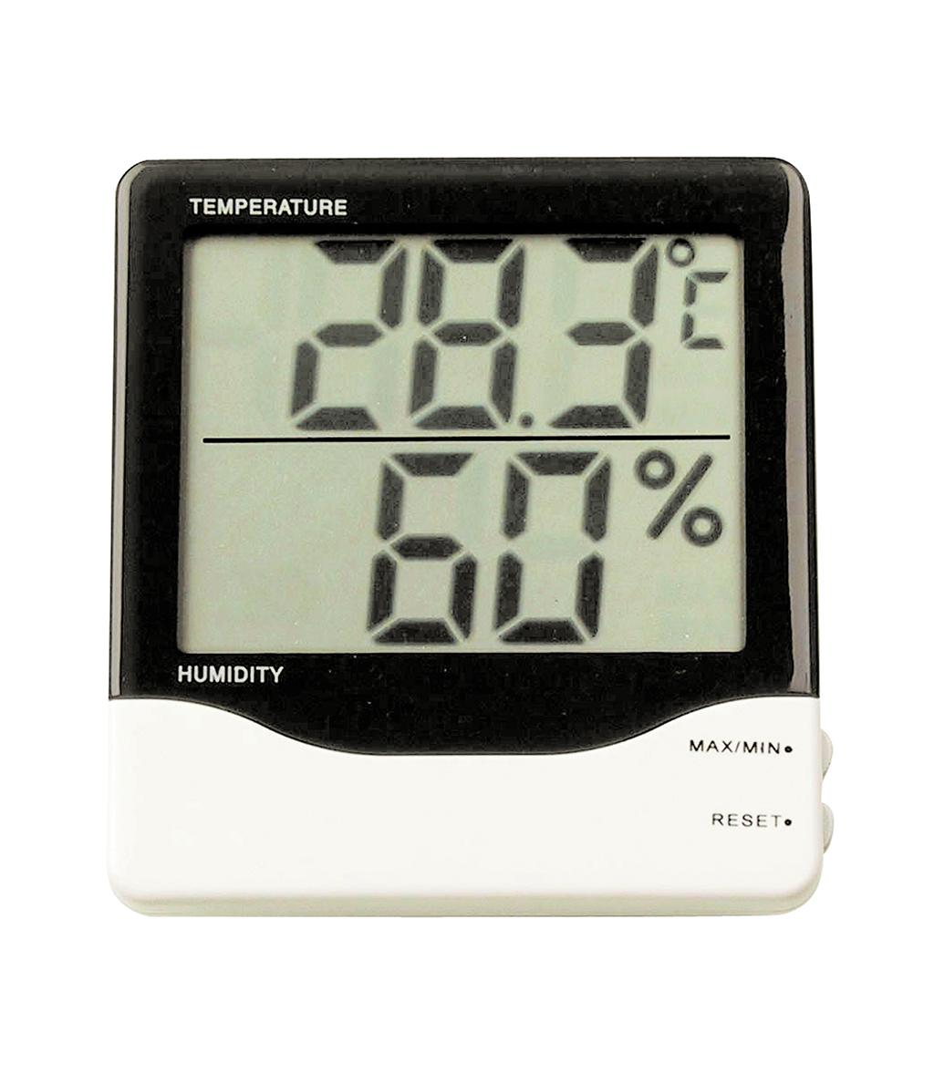 מד טמפרטורה ולחות דיגיטלי