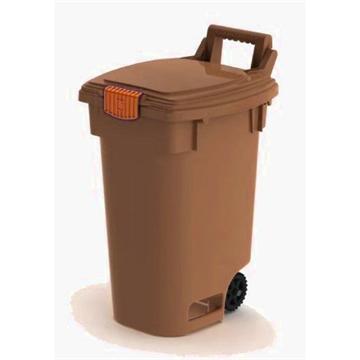 פח גלגלים לאיסוף פסולת אורגנית- 46 ליטר