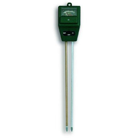 דקר למדידת לחות קרקע + תאורה + PH