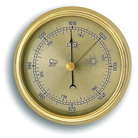 ברומטר שעון זהוב